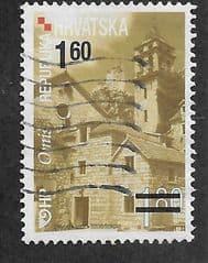 2010  1.60K ON 1.80K 'CROATIAN TOWNS- OMIS' FINE USED