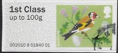 2010 1ST CLASS 'BIRDS I' (EX TALLENTS HOUSE ) FINE USED