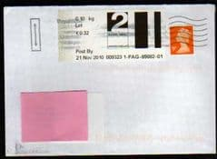 2010 2ND 'POST & GO -' (LEEDS ) LABEL COVER