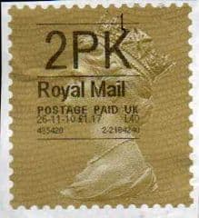 2010 (2PK)  GOLD HORIZON LABEL'(HYPHEN SEPERATED DATE) 26-11-10