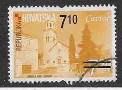 2010 7.10K ON 7.20K 'CROATIAN TOWNS - CAVTAT' FINE USED