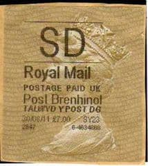 2010 SD 'POST BRENHINOL TYPE II