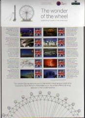 2010 'THE LONDON EYE' SHEET