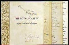 2010 'THE ROYAL SOCIETY' PRESTIGE BOOKLET