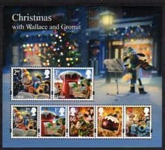 2010 U/M 'WALLACE AND GROMIT CHRISTMAS' M/S
