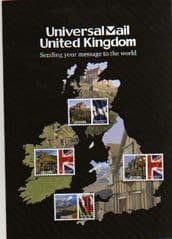 2010 UNIVERSAL MAIL (UNITED KINGDOM)PAMPHLET