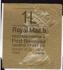 2011 1L ( B 4) POST BRENHINOL TYPE II+ CODES (NP26)