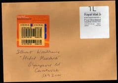 2011 1L POST BRENHINOL 'ERROR' ON COVER
