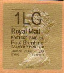 2011 1LG 'POST BRENHINOL TYPE II  (MISSING  L ERROR)