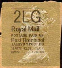 2011 2LG 'POST BRENHINOL' TYPE II