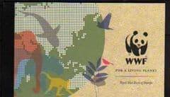 2011 '50TH ANN OF W.W.F' PRESTIGE BOOKLET DX52