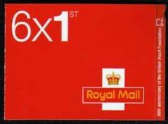 2011 6 X 1ST 'BRITISH HEART FOUNDATION' RETAIL BKLT