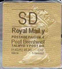 2011 SD ( Y 4) POST BRENHINOL  TYPE II WITH NEW CODES