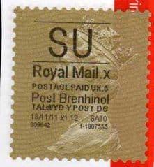 2011 'SU ' ( X 5)POST BRENHINOL' GOLD PERF
