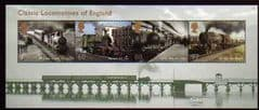 2011 U/M 'CLASSIC LOCOMOTIVES OF ENGLAND' M/S