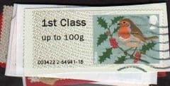 2012  10X 1ST 'CHRISTMAS ROBIN (MA12)   FINE USED