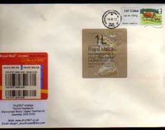 2012 '1L'(B 4) WELSH TYPE 3 HORIZON +'1ST 'CATTLE' (TRURO 1) LABEL ON COVER