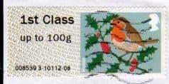 2012 1ST 'CHRISTMAS ROBIN (MA12)  FINE USED