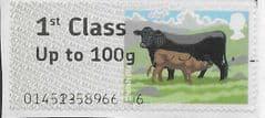 2012 1ST CLASS' CATTLE - WELSH BLACK' (FONT ERROR) FINE USED