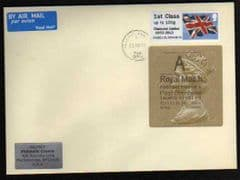 2012 1ST 'DIAMOND JUBILEE OVPT 'POST & GO+ 'A' (H 5) WELSH TYPE 3 ON COVER