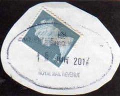 2012 1ST 'JUBILEE (M'T'ND) WITH POST BRENHINOL POSTAGE REVENUE POSTMARK