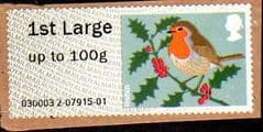 2012 1ST LARGE 'CHRISTMAS ROBIN (MA12)   FINE USED