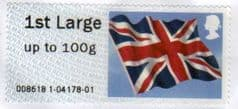 2012 1ST LARGE 'UNION FLAG' FINE USED