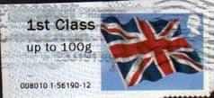2012 1ST 'UNION FLAG' FINE USED