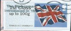 2012 1ST 'UNION FLAG' (TYPE IIa) FINE USED