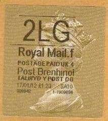2012 '2LG (F 4) POST BRENHINOL GOLD HORIZON (TYPE 2a)