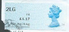 2012 2LG (F 4) ' POST & GO' (MA12)(TYPE IIa)     FINE USED