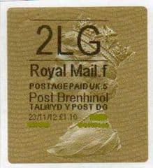 2012 2LG ( F 5) POST BRENHINOL TYPE II WITH  RARE CODES