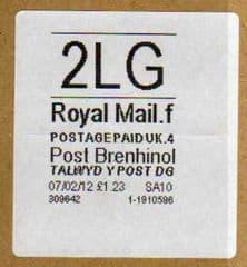 2012 2LG POST BRENHINOL (CODES F 4) LATE USE