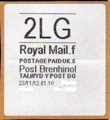 2012 2LG POST BRENHINOL (CODES F 5)  LATE USE