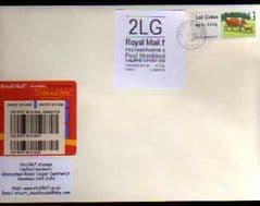 2012 '2LG' WELSH WHITE HORIZON AND 1ST 'CATTLE' LABEL ON COVER