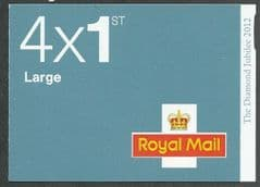 2012 4 X 1ST LARGE MACHINS ' DIAMOND JUBILEE- SLATE BLUE' BKLT