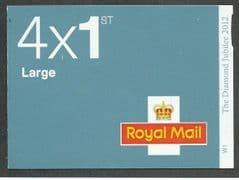 2012 4 X 1ST LARGE 'MACHINS  DIAMOND JUBILEE- SLATE BLUE' (PLATED)  BKLT
