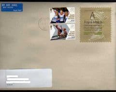 2012 A (H 5) 'POST BRENHINOL' TYPE 1 RARE ON COVER