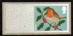 2012 (BLANK) 'CHRISTMAS ROBIN MA12' ON BACKING PAPER