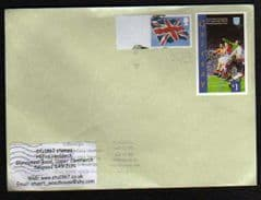 2012 (BLANK) 'UNION FLAG' + £1.00 'GAIRSAY'(LOCAL STAMP) ON COVER