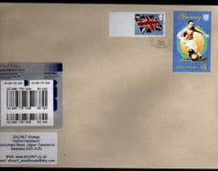 2012 (BLANK) 'UNION FLAG' + £5.00 GAIRSAY FINE USED ON SPECIAL DELIVERY COVER!