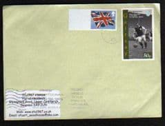 2012 (BLANK) 'UNION FLAG' + 50P 'GAIRSAY'(LOCAL STAMP) ON COVER