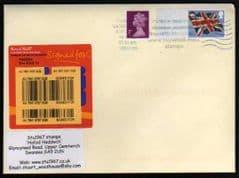 2012 (BLANK) 'UNION FLAG' POST & GO ON COVER