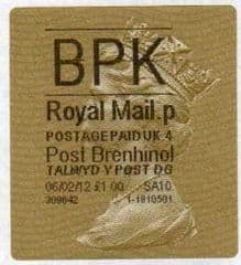 2012 BPK ( P 4) POST BRENHINOL GOLD HORIZON (TYPE 2a)