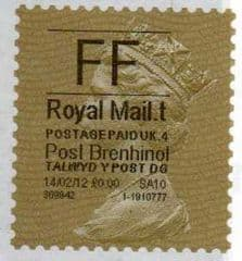 2012 'FF' 'POST BRENHINOL' GOLD PERF