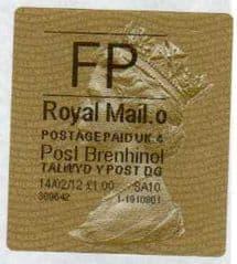 2012 FP ( o 4) POST BRENHINOL TYPE II+CODES