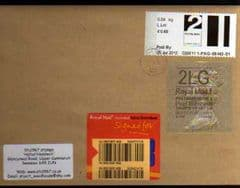 2012 L.LET 'POST & GO'+ 2LG 'TYPE 2a (WALSALL)'HORIZON' FINE USED COVER