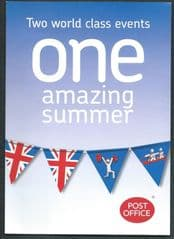 2012 'ONE AMAZING SUMMER' LEAFLET