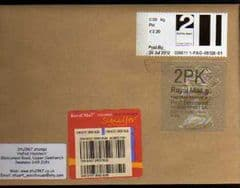 2012 (PACKET)  'POST & GO'+ 2PK 'TYPE 2a (WALSALL)HORIZON FINE USED COVER