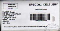 2012 PRE-PAID SPECIAL DELIVERY BARCODED LABELS